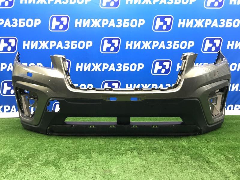 Бампер Subaru Forester передний (б/у)