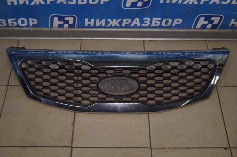 Решетка радиатора Kia Sorento 2 XM 2009 (б/у)