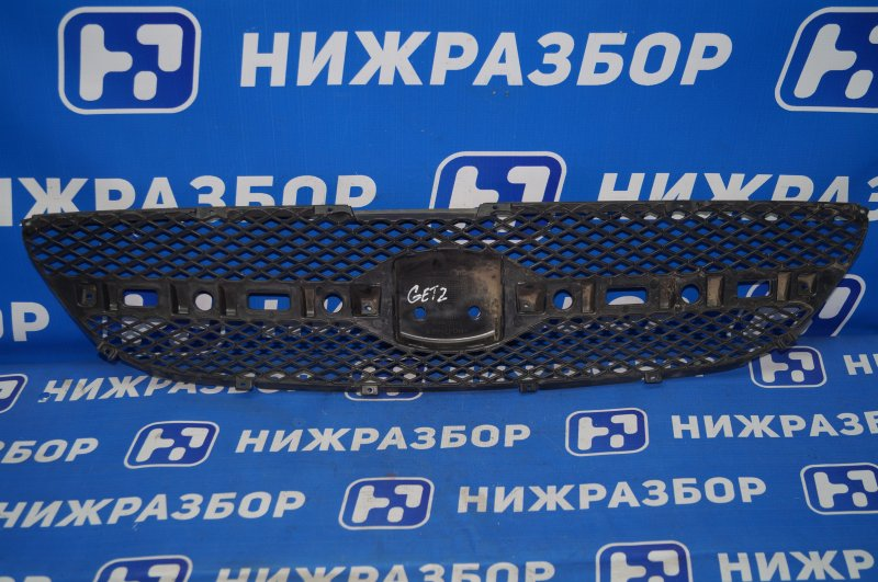 Решетка радиатора Hyundai Getz 2002 (б/у)