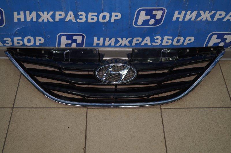 Решетка радиатора Hyundai Sonata 6 2010 (б/у)