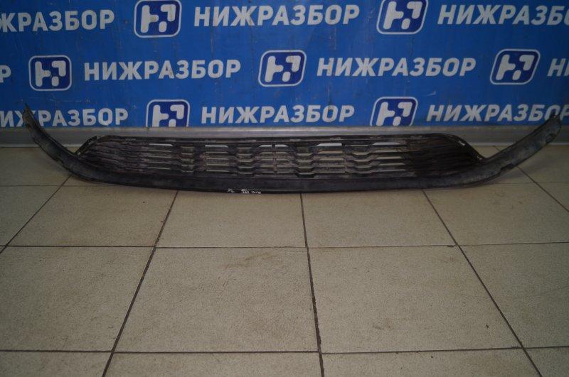 Решетка в бампер Kia Rio 3 QB 2011 передняя (б/у)