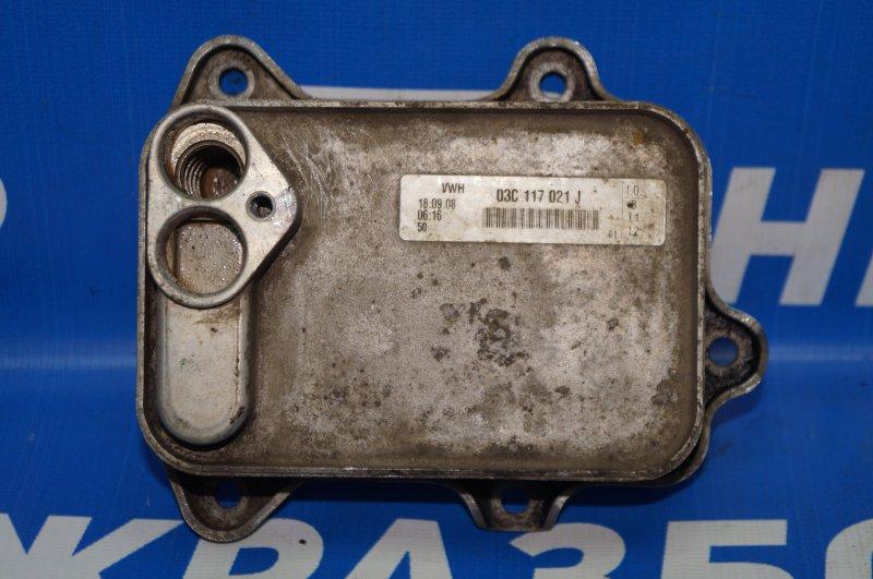 Радиатор масляный Audi A3 8P 1.4 (CAX) 2008 (б/у)