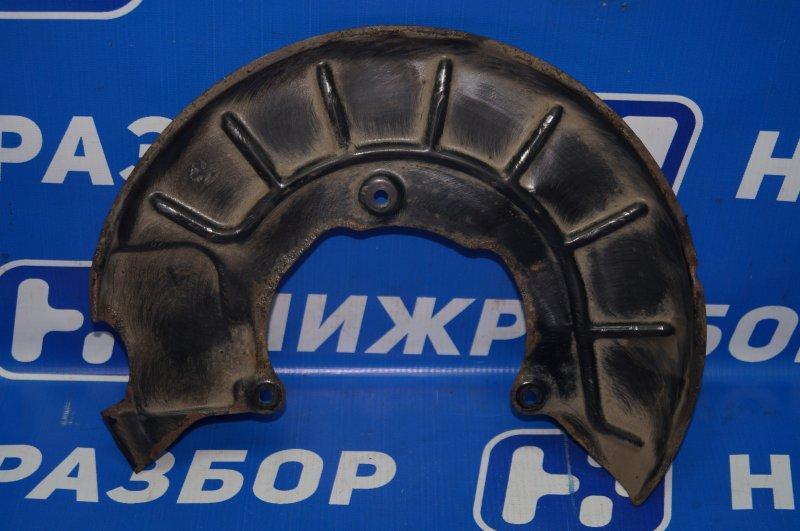 Пыльник тормозного диска Audi A3 8P 1.4 (CAX) 2008 передний левый (б/у)