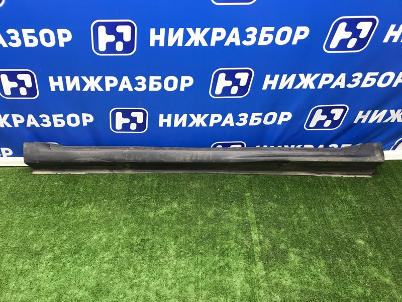 Накладка на порог (наружная) Mitsubishi Outlander Xl правая (б/у)