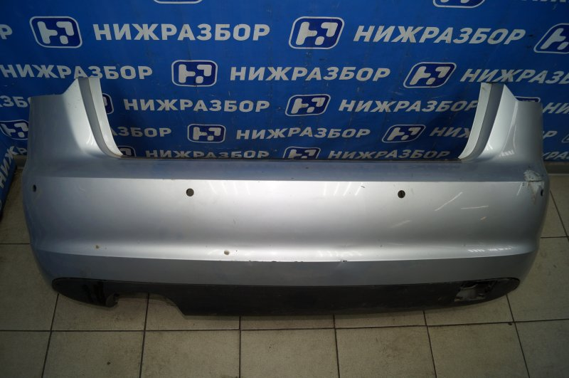 Бампер Audi A3 8P 1.4 (CAX) 2008 задний (б/у)