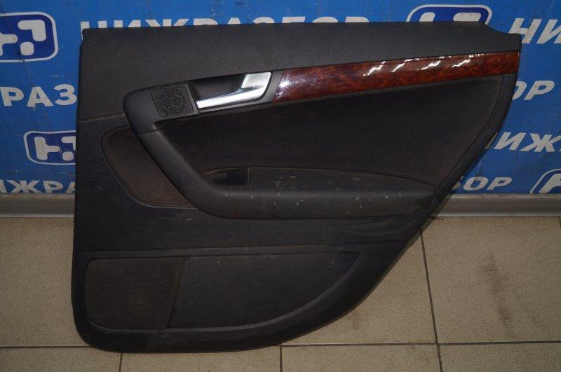 Обшивка двери Audi A3 8P 1.4 (CAX) 2008 задняя правая (б/у)