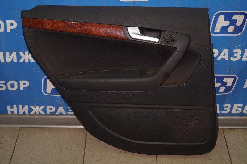 Обшивка двери Audi A3 8P 1.4 (CAX) 2008 задняя левая (б/у)