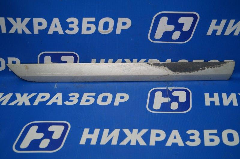 Молдинг двери Audi A3 8P 1.4 (CAX) 2008 задний правый нижний (б/у)