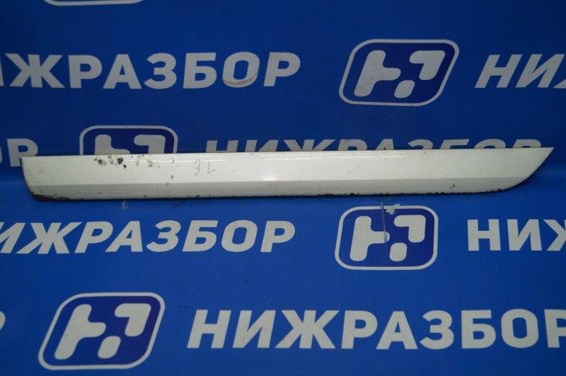 Молдинг двери Audi A3 8P 1.4 (CAX) 2008 задний левый нижний (б/у)