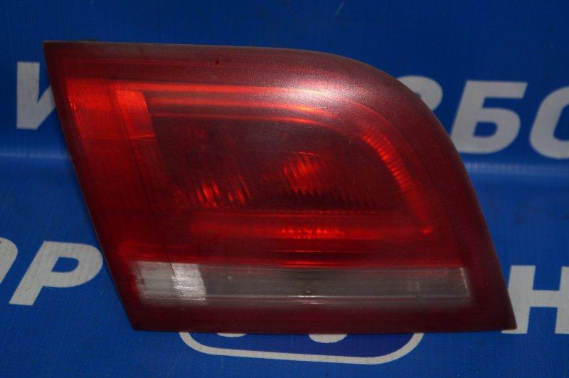 Фонарь внутренний Audi A3 8P 1.4 (CAX) 2008 задний левый (б/у)