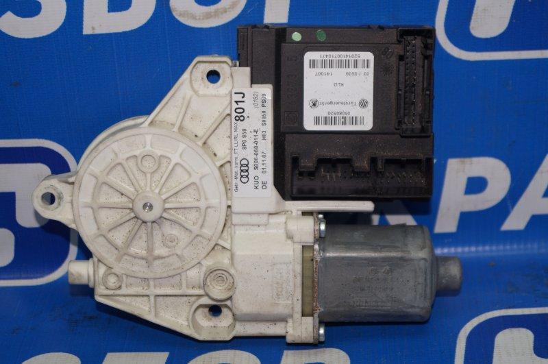 Моторчик стеклоподъемника Audi A3 8P 1.4 (CAX) 2008 передний правый (б/у)