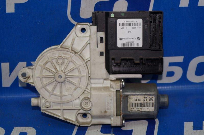 Моторчик стеклоподъемника Audi A3 8P 1.4 (CAX) 2008 передний левый (б/у)