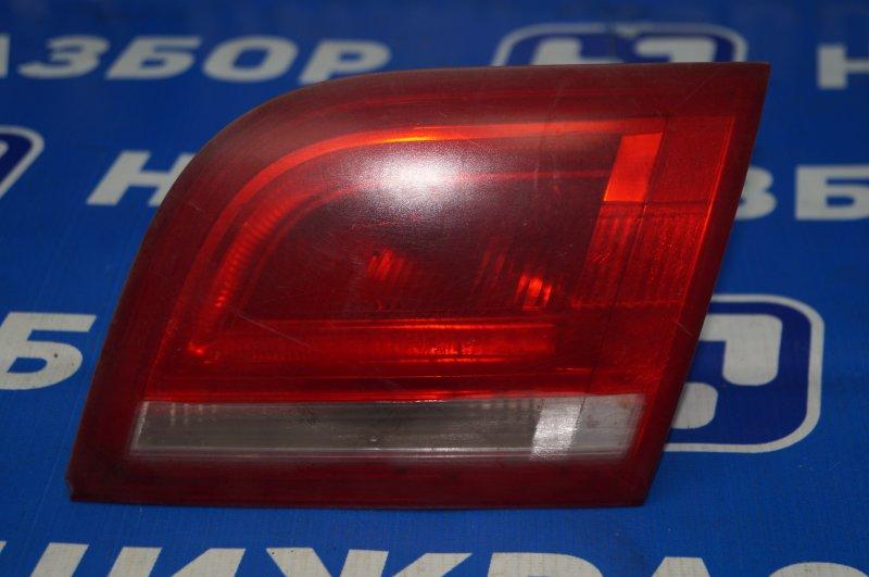 Фонарь внутренний Audi A3 8P 1.4 (CAX) 2008 задний правый (б/у)
