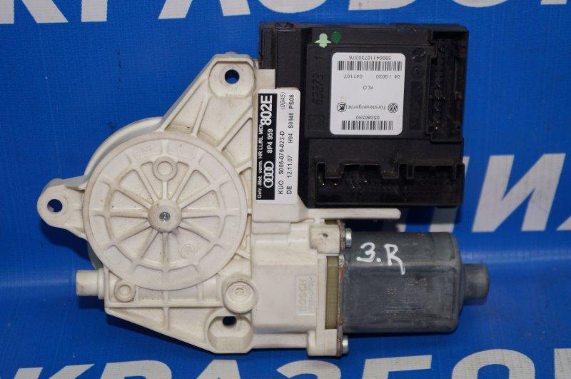Моторчик стеклоподъемника Audi A3 8P 1.4 (CAX) 2008 задний правый (б/у)