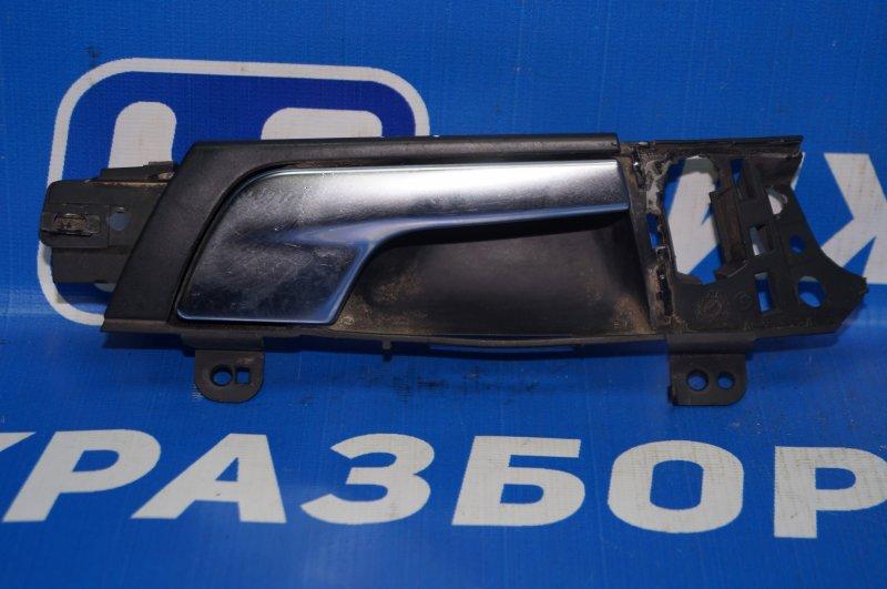 Ручка двери внутренняя Audi A3 8P 1.4 (CAX) 2008 передняя правая (б/у)