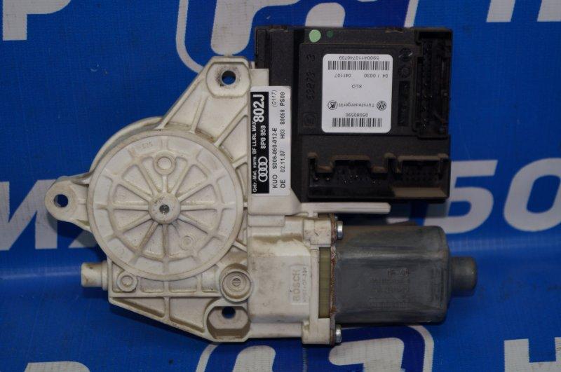 Моторчик стеклоподъемника Audi A3 8P 1.4 (CAX) 2008 задний левый (б/у)
