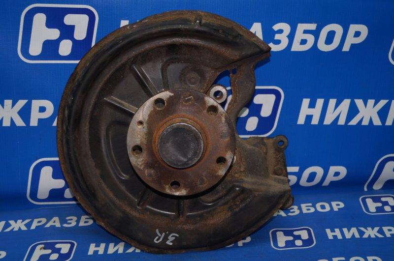 Кулак поворотный Audi A3 8P 1.4 (CAX) 2008 задний правый (б/у)