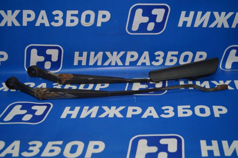 Поводок стеклоочистителя к-кт Kia Rio 1 DC 1.5 A5D 2003 передний (б/у)