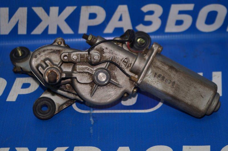 Моторчик стеклоочистителя Kia Rio 1 DC 1.5 A5D 2003 задний (б/у)