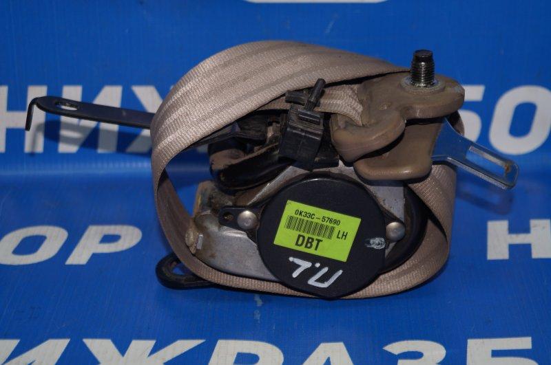Ремень безопасности с пиропатроном Kia Rio 1 DC 1.5 A5D 2003 передний левый (б/у)