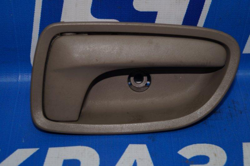 Ручка двери внутренняя Kia Rio 1 DC 1.5 A5D 2003 задняя правая (б/у)