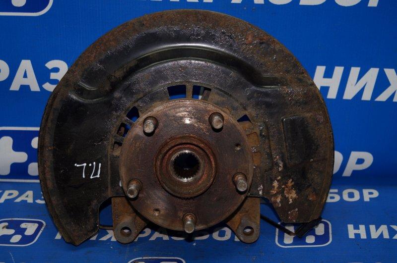 Кулак поворотный Chery Tiggo T11 1.8 SQR481FC 2009 передний левый (б/у)