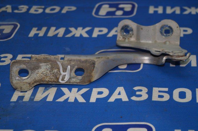 Петля капота Chevrolet Aveo T250 1.4 (F14D3) 2007 правая (б/у)