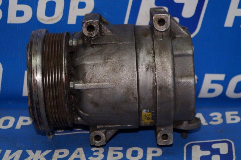 Компрессор кондиционера Chevrolet Aveo T250 1.4 (F14D3) 2007 (б/у)