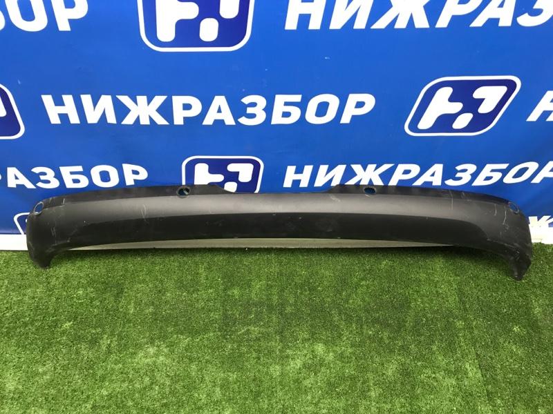 Накладка бампера Lada Vesta 2015> задняя (б/у)