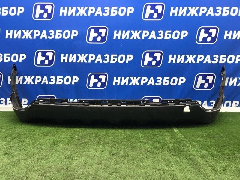 Юбка бампера Kia Sportage 4 QL 2016> задняя (б/у)
