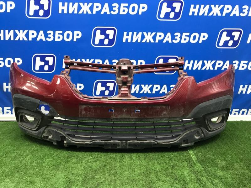 Бампер Renault Logan 2 передний (б/у)