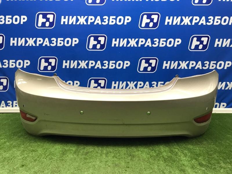 Бампер Hyundai Solaris 1 задний (б/у)