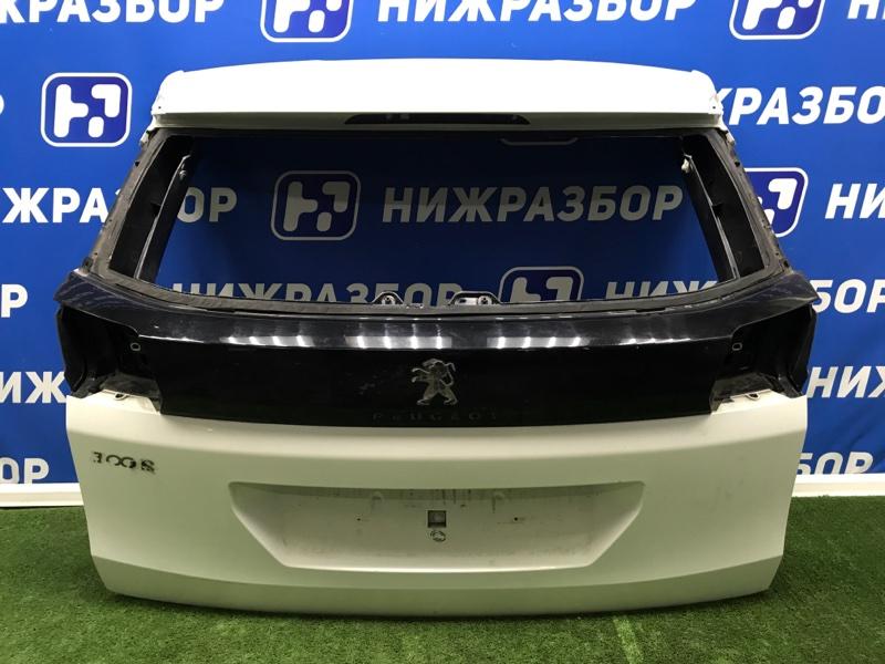 Крышка багажника Peugeot 3008 задняя (б/у)