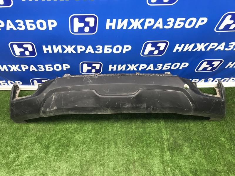 Накладка бампера Hyundai Creta 2016> задняя (б/у)