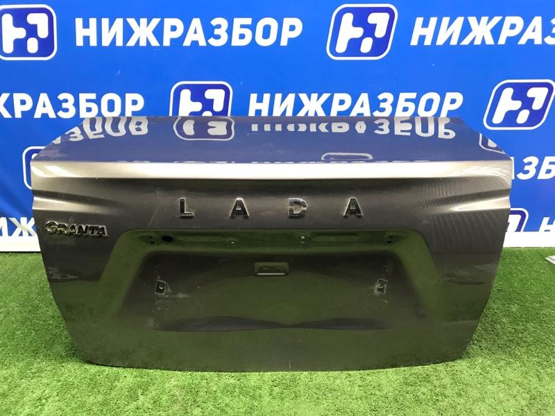 Крышка багажника Lada Granta задняя (б/у)