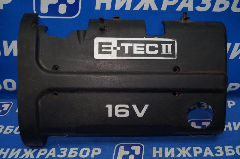 Накладка двигателя декоративная Chevrolet Aveo T250 1.4 (F14D3) 2007 (б/у)
