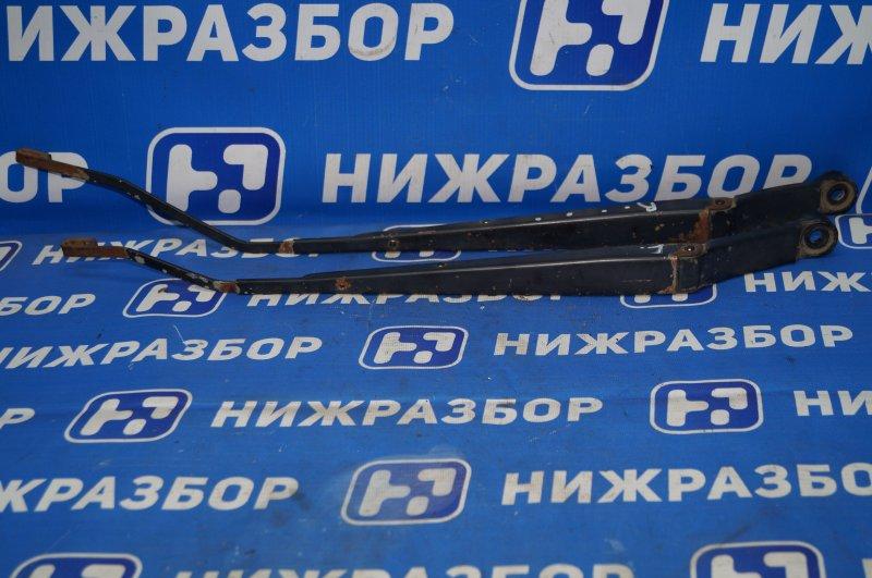 Поводок стеклоочистителя к-кт Chevrolet Aveo T250 1.4 (F14D3) 2007 передний (б/у)
