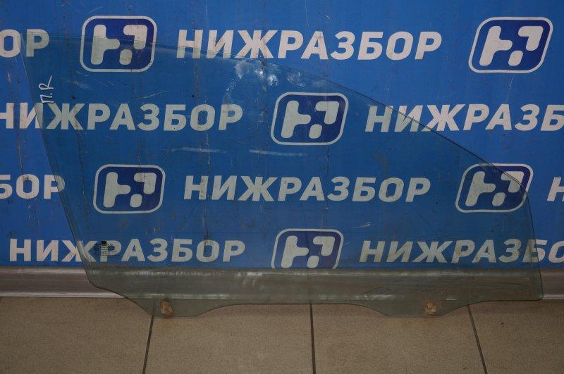 Стекло двери Chevrolet Aveo T250 1.4 (F14D3) 2007 переднее правое (б/у)