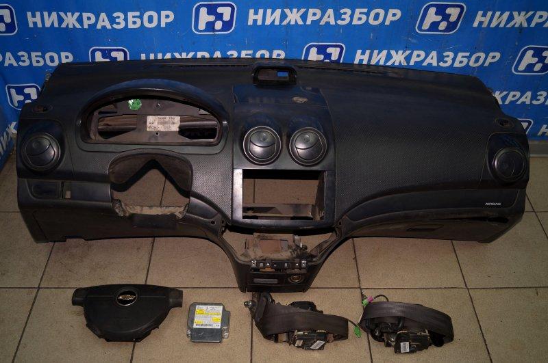 Комплект безопасности Chevrolet Aveo T250 1.4 (F14D3) 2007 (б/у)