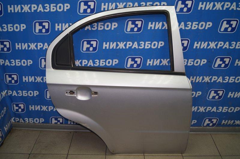 Дверь Chevrolet Aveo T250 1.4 (F14D3) 2007 задняя правая (б/у)