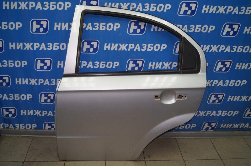 Дверь Chevrolet Aveo T250 1.4 (F14D3) 2007 задняя левая (б/у)