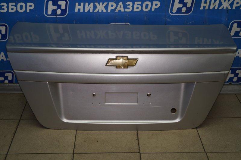 Крышка багажника Chevrolet Aveo T250 1.4 (F14D3) 2007 (б/у)