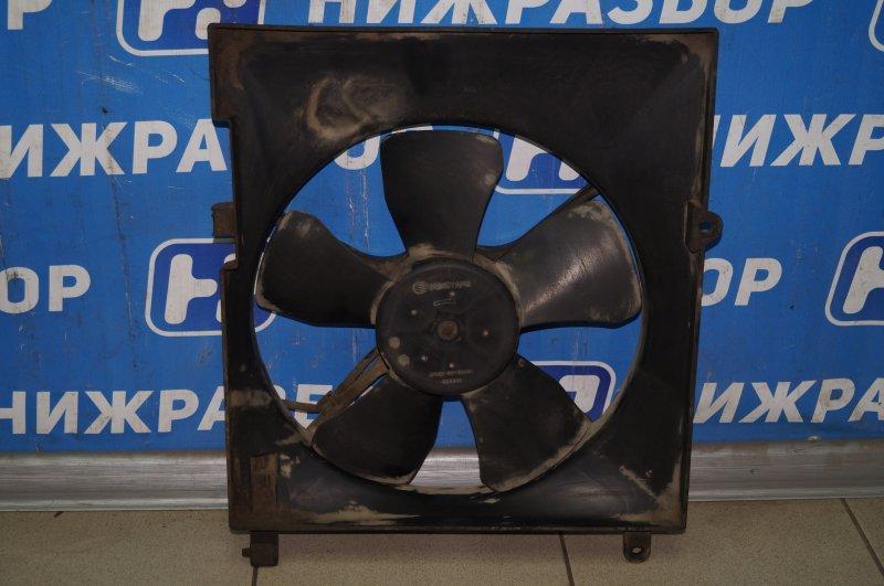 Вентилятор радиатора Chevrolet Aveo T250 1.4 (F14D3) 2007 (б/у)