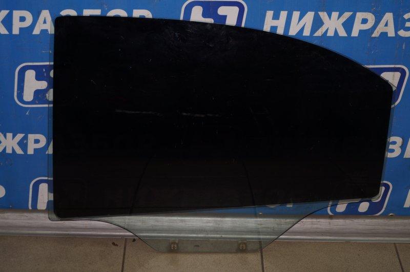 Стекло двери Chevrolet Aveo T250 1.4 (F14D3) 2007 заднее левое (б/у)