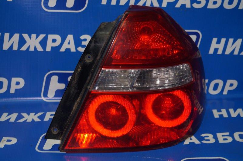 Фонарь Chevrolet Aveo T250 1.4 (F14D3) 2007 задний правый (б/у)