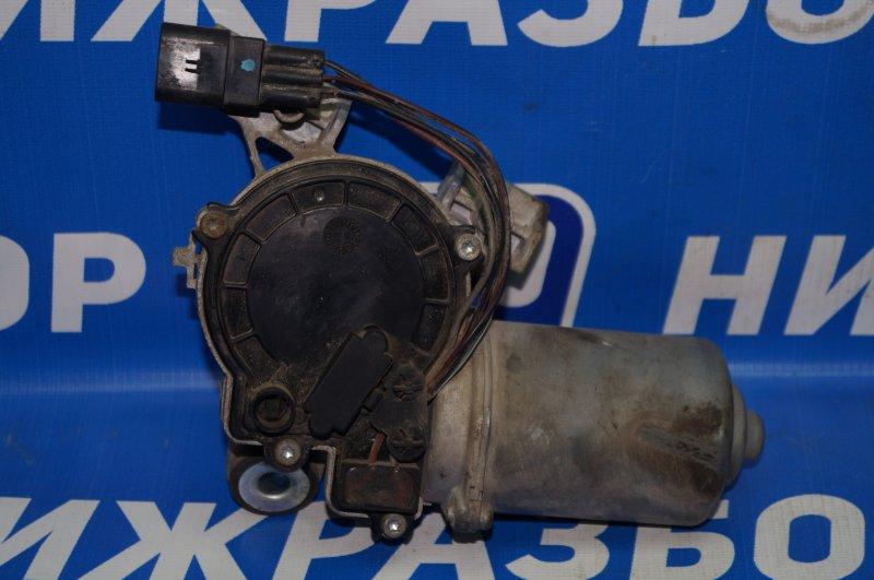 Моторчик стеклоочистителя Chevrolet Aveo T250 1.4 (F14D3) 2007 передний (б/у)