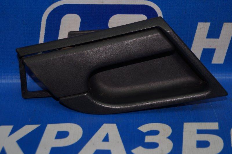 Ручка двери внутренняя Chevrolet Aveo T250 1.4 (F14D3) 2007 задняя правая (б/у)