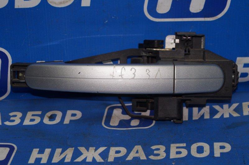 Ручка двери наружная Ford Focus 3 2011 задняя левая (б/у)