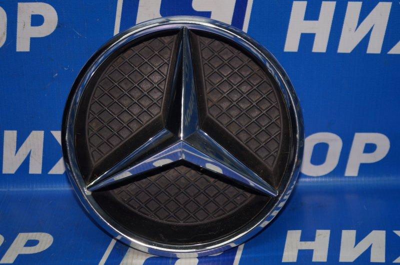 Значок (эмблема) Mercedes Cla-Class W117 2013 передний (б/у)