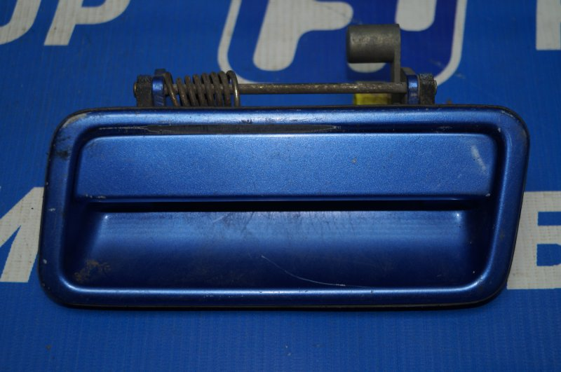 Ручка двери наружная Mazda 323 BG 1989 задняя левая (б/у)